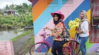 Kampung warna, Bobotsari, Purbalingga. (Foto: Liputan6.com/Dinkominfo Purbalingga/Muhamad Ridlo)