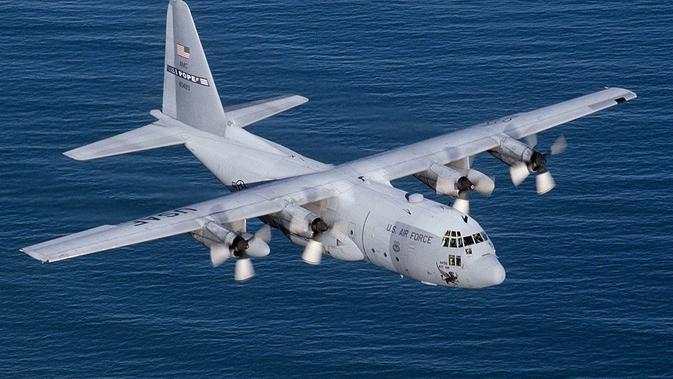 Hercules C130 milik Amerika Serikat. (Public Domain)