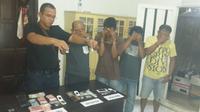 Polisi pengedar sabu ditangkap