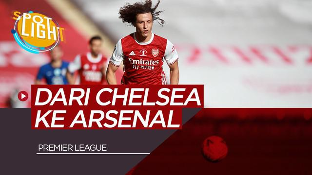 Berita Video Spotlight Selain Willian, 4 Pemain ini Pindah dari Chelsea ke Arsenal Termasuk David Luiz