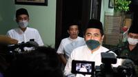 Wakil Gubernur Jawa Tengah Taj Yasin Maemoen saat safari ramadhan di kantor Pengurus Wilayah Nahdlatul Ulama (PWNU) Jawa Tengah. (Foto: Liputan6.com/Felek Wahyu)
