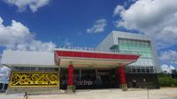 Puskesmas Entikong menjadi salah satu puskesmas representatif yang berhasil dibangun Kementerian Kesehatan RI, yang diresmikan selasa (17/4), (Foto : Dokumentasi Biro Komunikasi dan Pelayanan Masyarakat Kemenkes RI)