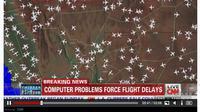 Komputer Pengawas Lalu Lintas Udara di Bandara Los Angeles Rusak. (CNN.com)