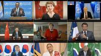 """200 kelompok medis mengatakan kepada para pemimpin G20 (26/5/2020), bahwa triliun dolar, euro, dan yuan yang mengalir ke ekonomi pasca pandemi harus membangun """"pemulihan sehat dan penghijauan."""" (Photo Credit: World Health Organization/AFP/File/)"""