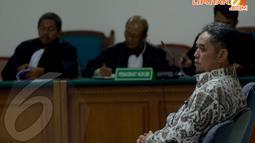 Teuku Bagus Muhammad Noor saat mendengarkan bacaan dakwaan oleh Jaksa Penuntut Umum di Pengadilan Tipikor, Jakarta (Liputan6.com/Johan Tallo)
