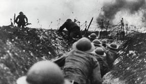 (Foto: The British Library) Ilustrasi Perang Dunia I