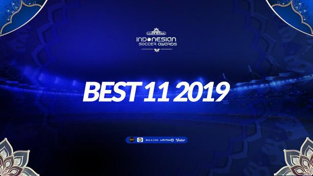 Berita video best 11 di Indonesian Soccer Awards 2019. Siapa sajakah?