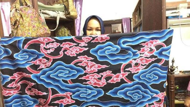 Belajar Kesabaran Dari Batik Mega Mendung Cirebon Regional Liputan6 Com