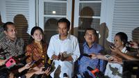 Rapat ini juga dihadiri Ketua Fraksi PDIP DPR Puan Maharani, Ketua DPP PKB Marwan Ja'far dan Ketua Tim Transisi Rini Soemarno, Jakarta, (28/8/14). (Liputan6.com/Miftahul Hayat)