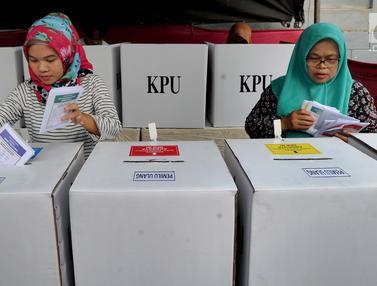 Dua TPS di Tangerang Selatan Lakukan Pencoblosan Ulang
