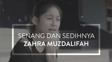 Video wawancara pesepak bola cantik, Zahra Muzdalifah, yang pernah dibuat senang dan sedih karena Timnas.
