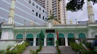 Menurut catatan, terdapat beberapa masjid di Ho Chi Minh City Vietnam. Salah satunya adalah The Central Mosque yang terletak di Jalan Dong Du. (Foto: Liputan6.com/ Ana Fauziah)