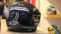 Ilustrasi helm motor (Ray/Otosia.com)