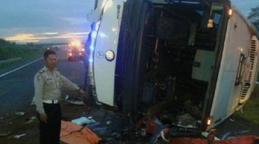 Jumlah Korban Tewas Bus Pendemo 4 November Bertambah Jadi 2