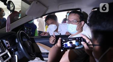 FOTO: Layanan Sentra Vaksinasi Indonesia Bangkit di RSUI Depok