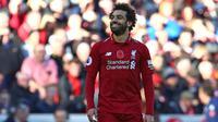 5. Mohamed Salah (Liverpool) - 7 gol dan 3 assist (AFP/Geoff Caddick)