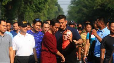 Jokowi di CFD Solo