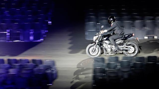 Jokowi Gunakan Moge ke Pembukaan Asian Games 2018