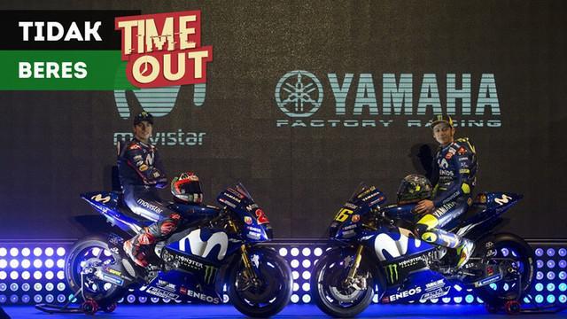 Berita video Time Out kali ini tentang tim Valentino Rossi dan Maverick Vinales yang disebut Andrea Dovizioso tidak beres.