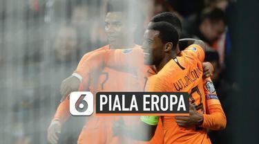 Belanda berhasil melibas Estonia pada laga kualifikasi Piala Eropa dengan skor 5-0. Kapten Timnas Belanda Georginio Wijnaldum bahkan sempat melakukan hattrick.