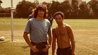 Mario Kempes dan Osvaldo Ardiles menjadi bintang Argentina saat juara Piala Dunia 1978. (Twitter).