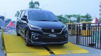 Ertiga Jadi Mobil Suzuki yang banyak Dites di GIIAS 2019 (PT SIS)
