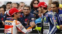 Rossi mengaku sempat ketir-ketir, namun akhirnya bisa bernapas lega setelah Dani Pedrosa keluar sebagai juara dan Lorenzo di urutan ketiga.