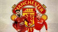Manchester United - Bruno Fernandes Vs Eric Cantona (Bola.com/Adreanus Titus)