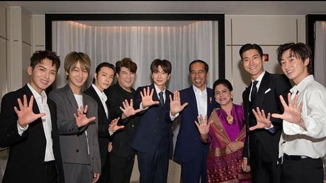 Jokowi dan Super Junior