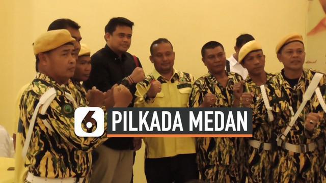 Menantu presiden Jokowi Bobby Nasution ikut Fit and Proper Tes Calon wali Kota Medan di DPD Partai Golkar Sumut. Ada 177 peserta dari 23 Kabupaten di Sumatera Utara.