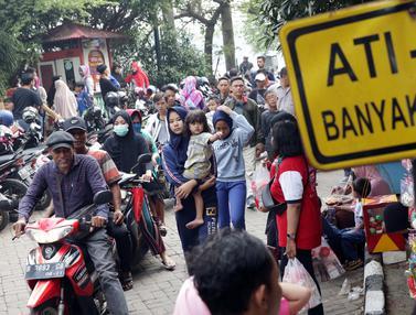 HUT Jakarta, Setu Babakan Dipadati Warga