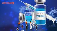 Banner Infografis 180 Juta Warga Indonesia Target Vaksin Covid-19. (Liputan6.com/Abdillah)