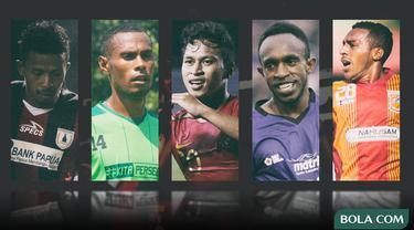 Trivia - Osvaldo Haay, Ruben Sanadi, Terens Puhiri, Ricky Kayame, Friska Womsiwor