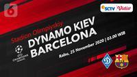 Dynamo Kiev vs Barcelona (Liputan6.com/Abdillah)