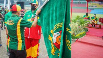 Lepas Atlet ke PON Papua, Bobby Nasution: Prestasi Kalian Penyemangat Masyarakat Medan