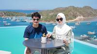 Honeymoon Alvin Faiz dan Henny Rahman. (Sumber: Instagram/hennyyrahman)