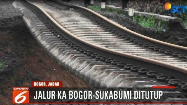 Rencananya perbaikan menunggu proses evakuasi korban yang terdampak longsoran rel kereta.