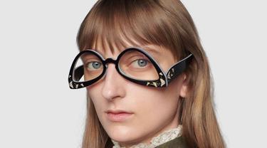 Gucci Jual Kacamata Terbalik Seharga Rp10 Juta, Desainnya Bikin Warganet Gagal Paham