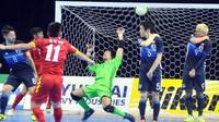 Vietnam menaklukkan Jepang pada perempat final Piala Asia Futsal 2016 di Taskent, Rabu (17/2/2016). (dok. The AFC)