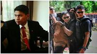Praka Izroi Gajah sempat dicegat petugas di jalur penyekatan Jalan Daan Mogot, Jakarta Barat. (Sumber: Instagram/@izroy_gadjah)