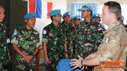 Satgas MCOU (Military Community Outreach Unit) TNI Kontingen Garuda  XXX-A/UNIFIL melaksanakan orientasi untuk mendukung optimalisasi keberhasilan tugas pasukan PBB di kawasan itu, Rabu (24/8).