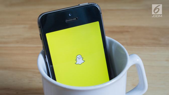 Ilustrasi Snapchat  (iStockPhoto)