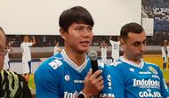 Achmad Jufriyanto kembali bergabung bersama Persib Bandung setelah musim lalu berkiprah di Liga Malaysia. (Bola.com/Erwin Snaz)