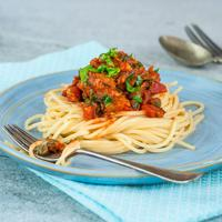 ilustrasi Resep Pasta Sarden/copyright By BBA Photography (Shutterstock)