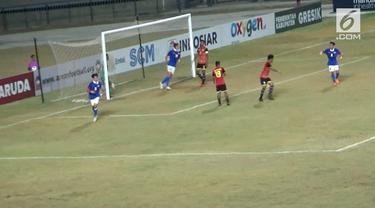 Timnas Timor Leste U-19 berhasil menahan imbang salah satu tim kuat Malaysia U-19 dengan 1 - 1.