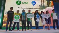 Layanan GrabGerak merupakan bentuk kerja sama dari Grab dan Rexona untuk memudahkan penyandang disabilitas menggunakan moda transportasi online. (Bola.com/Zulfirdaus Harahap)