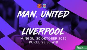 Premier League - Manchester United Vs Liverpool (Bola.com/Adreanus Titus)