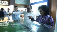Menteri Ketenagakerjaan, M. Hanif Dhakiri saat acara pembukaan MOS + ACA National Championship di SMA Pradita Dirgantara, Solo, Jawa Tengah.