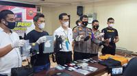 Jatanras Polrestabes Makassar tangkap komplotan perampok (Liputan6.com/Fauzan)