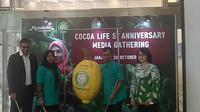 Mondelēz International menggelar jumpa pers lima tahun Cocoa Life. (Liputan6.com/Henry)